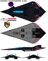 FA-70A Panther 2  GI-joe by bagera3005