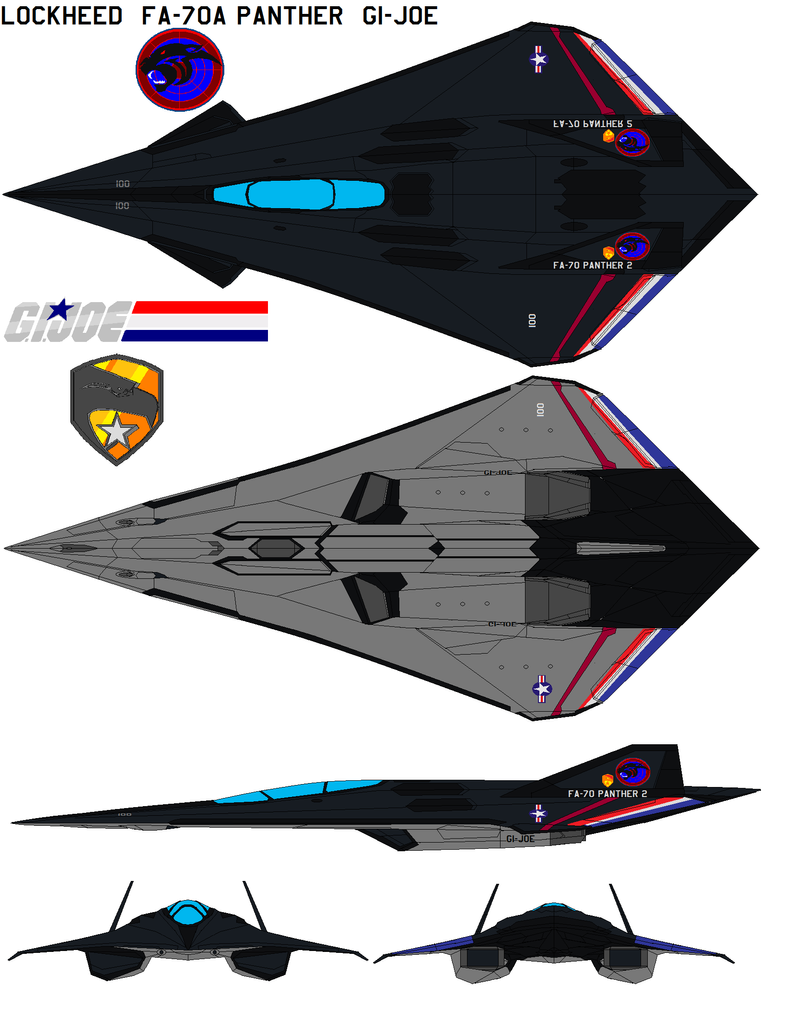 Fa 70a Panther 2 Gi Joe By Bagera3005 On Deviantart