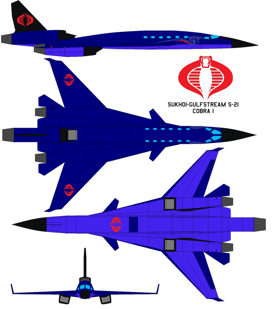 Cobra Manga 2010 Streaming: Sukhoi-Gulfstream S-21 Cobra 1 By Bagera3005 On DeviantArt
