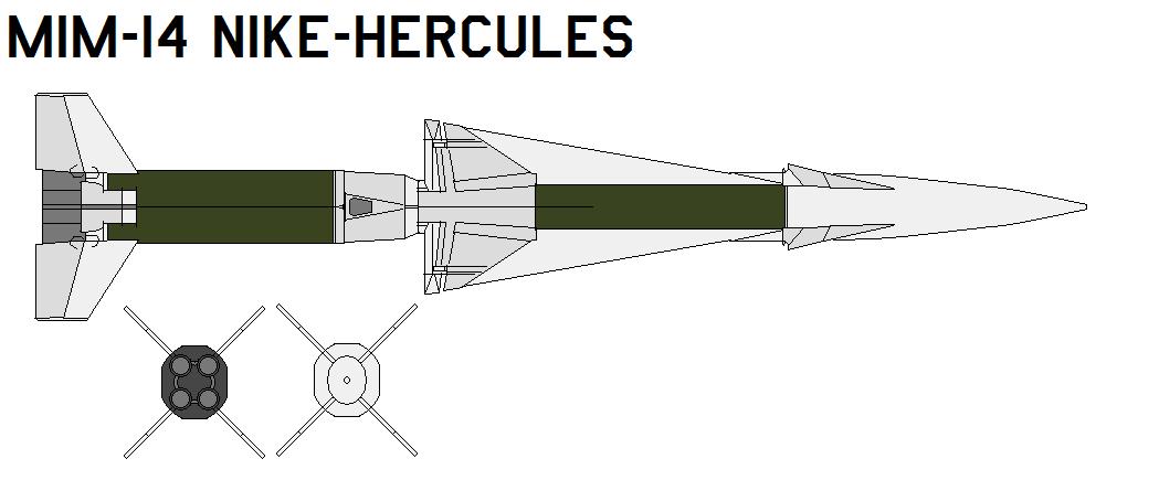 MIM-14 Nike-Hercules by bagera3005