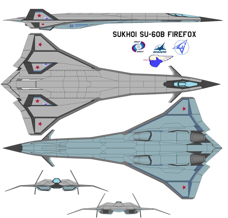 Sukhoi SU-60B Firefox By Bagera3005 On DeviantArt