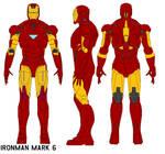 ironman  armor mark 6