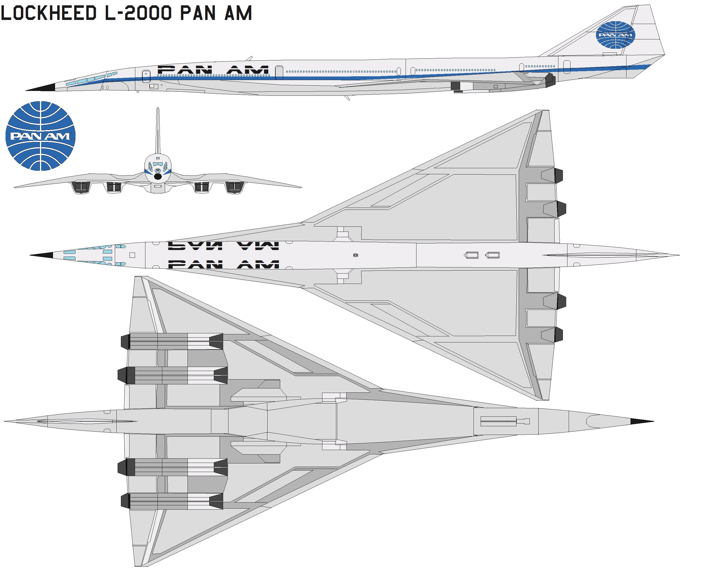Lockheed L2000 pan am