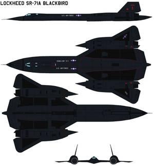 Lockheed SR-71 Blackbird 17975