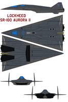 Lockheed SR-100 Aurora II by bagera3005