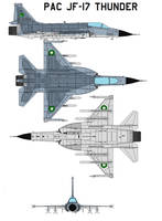 PAC JF-17 Thunder by bagera3005