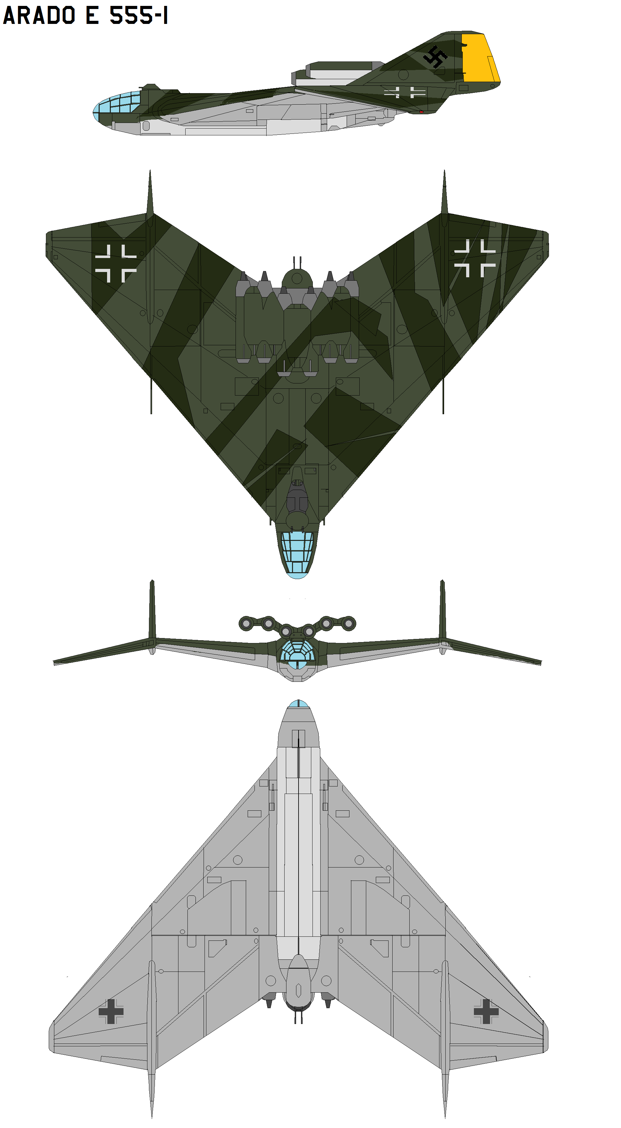 Arado E 555-1 by bagera3005