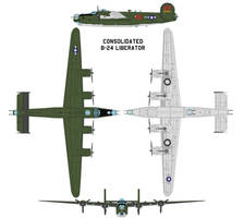 Consolidated B-24 Liberator by bagera3005