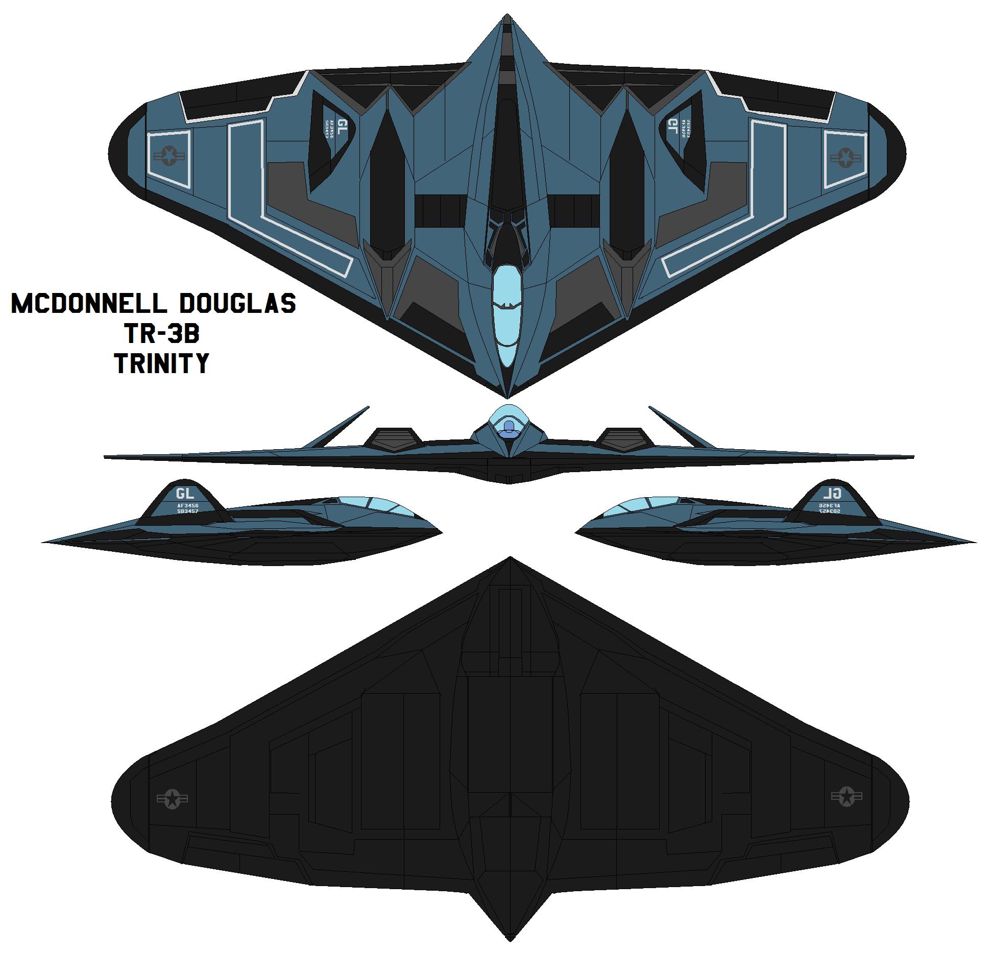 Douglas TR-3B TRINITY by bagera3005