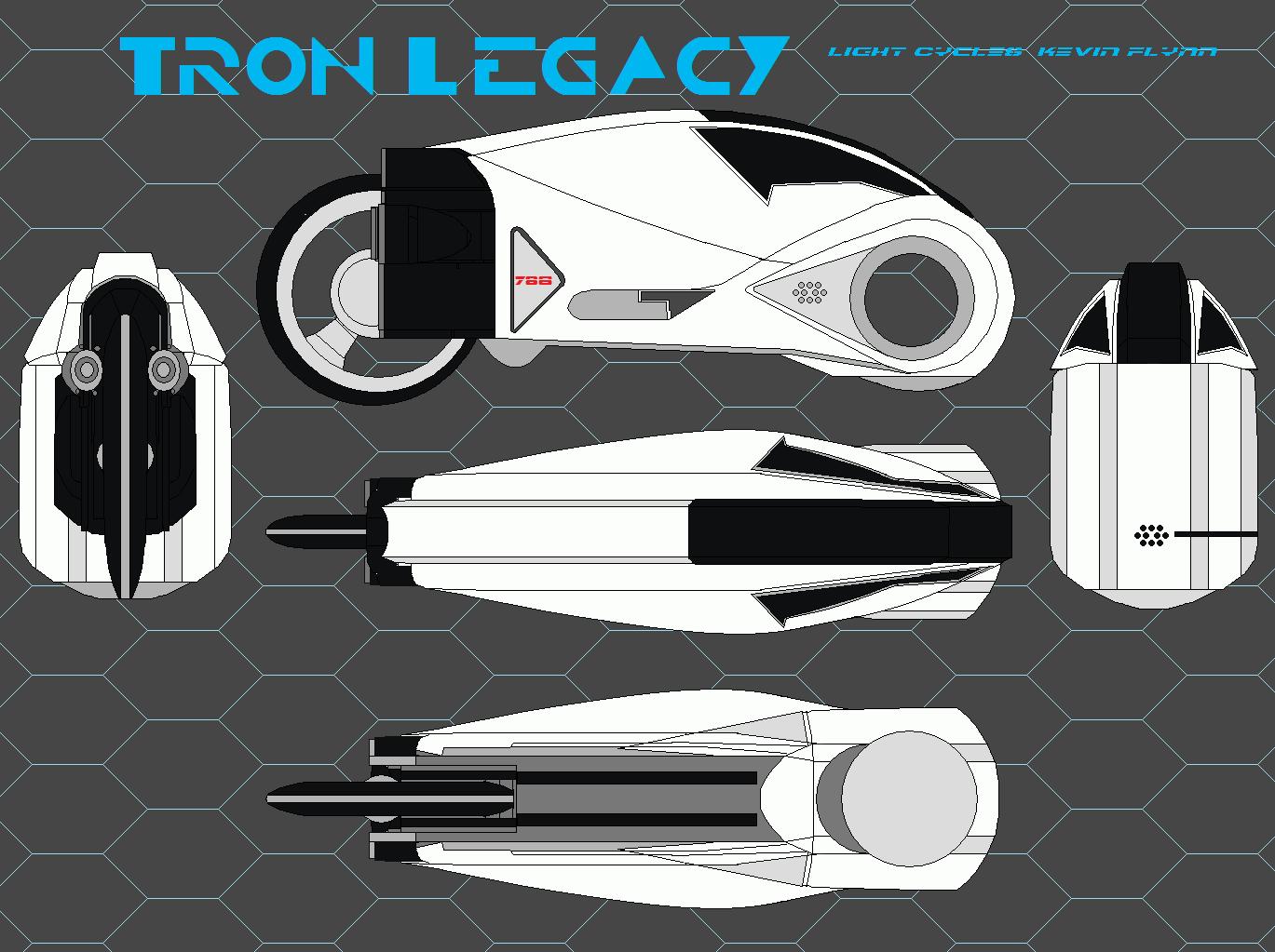 Tron Legacy Light Cycle