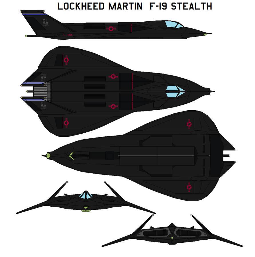 Lockheed Martin F-19 Stealth