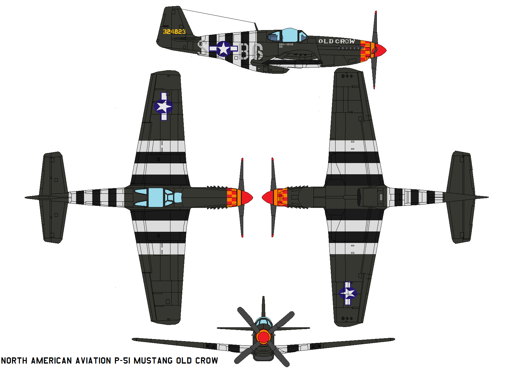 P 51b mustang old crow by bagera3005 on deviantart p 51b mustang old crow by bagera3005 malvernweather Gallery