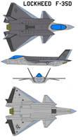 Lockheed  F-35D by bagera3005