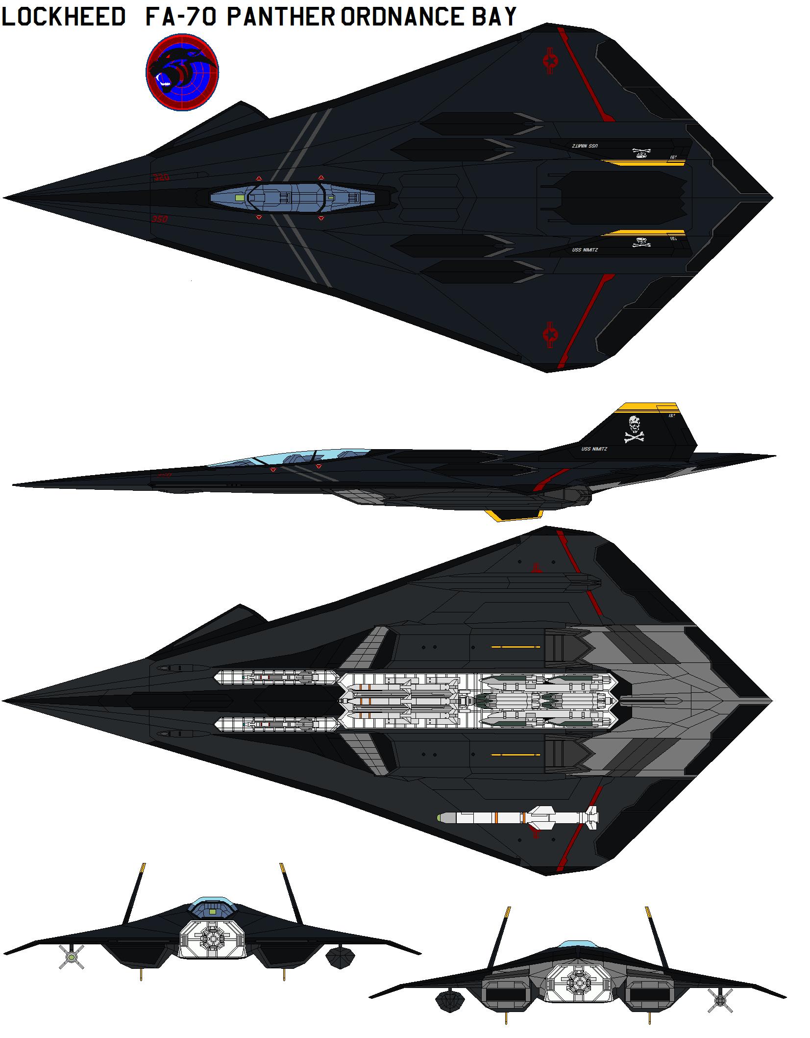 FA-70 ordnance bay loud by bagera3005