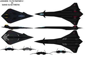 FA-70  Vs SU-60 by bagera3005