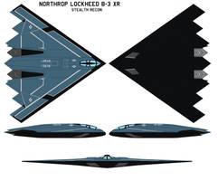 Northrop Lockheed  B-3 XR by bagera3005