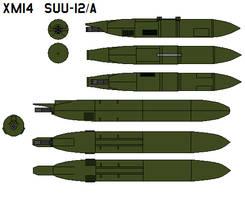 XM14  SUU-12 A by bagera3005