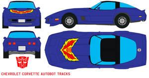 autobot Tracks Corvette