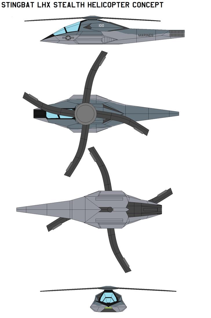 Stingbat LHX Stealth by bagera3005