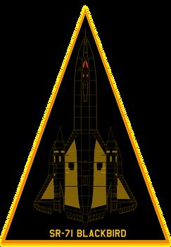 sr-71 blackbird  patch