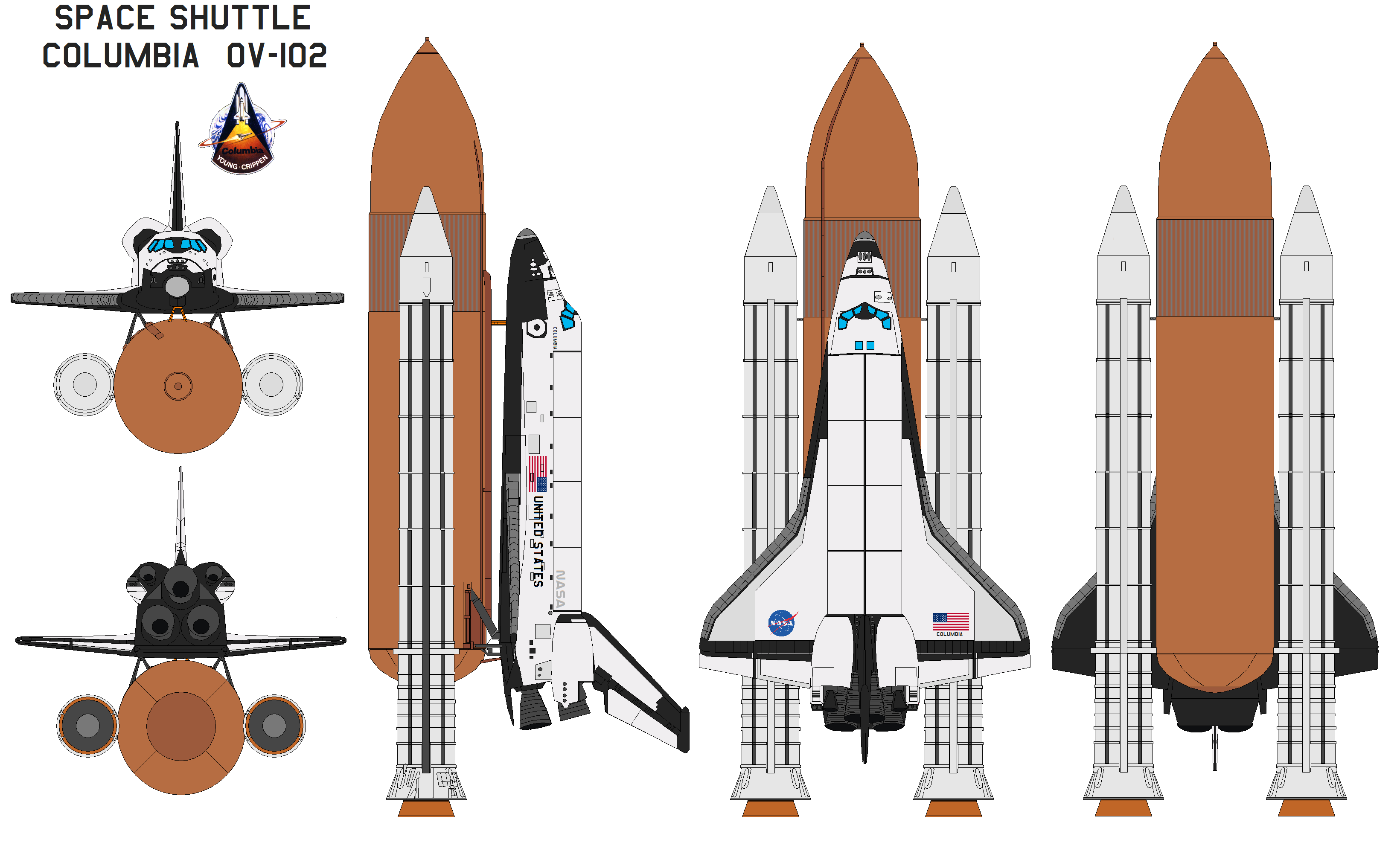 Space Shuttle Columbia OV-102 by bagera3005 on DeviantArt