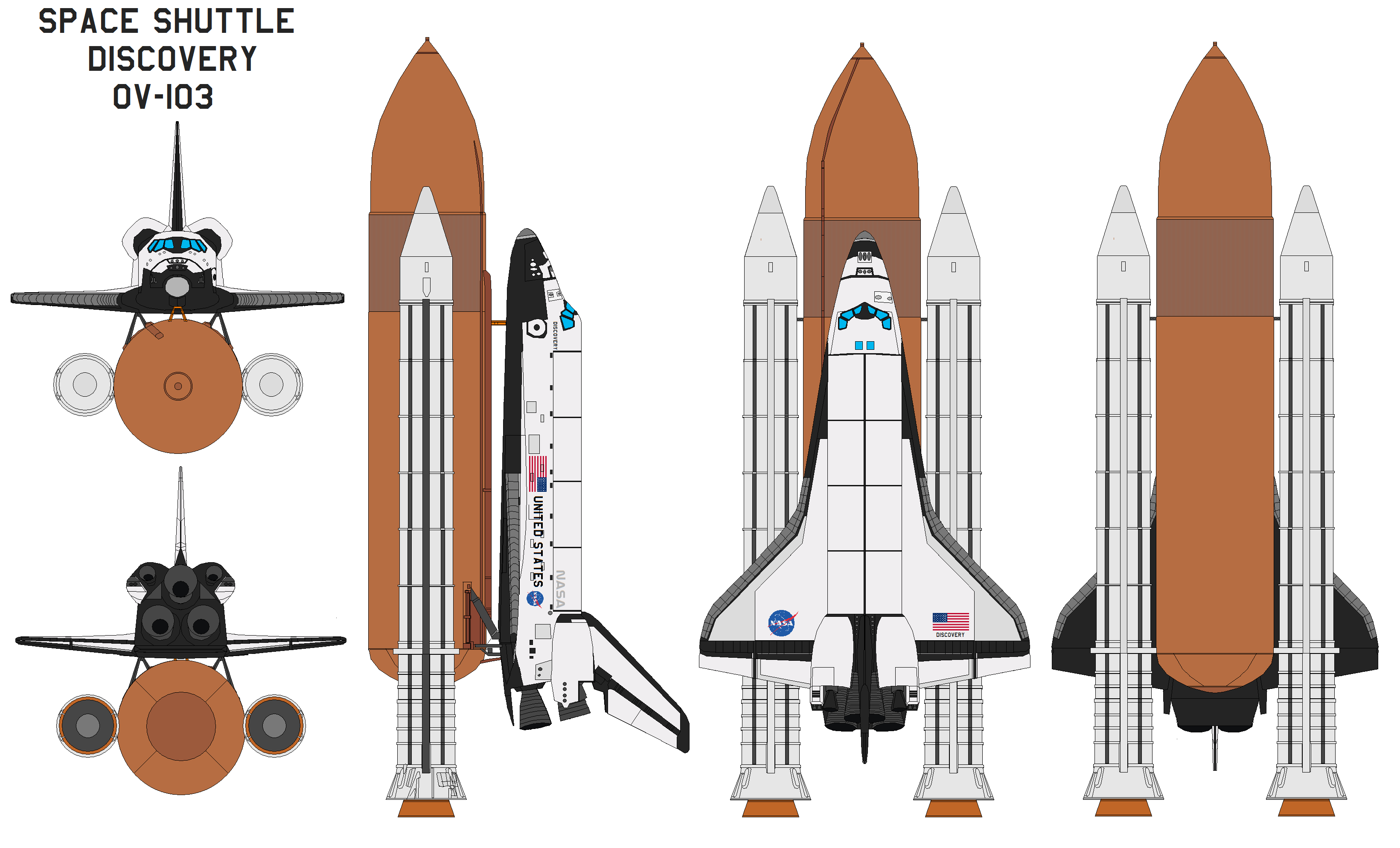 space shuttle fleet names - photo #14