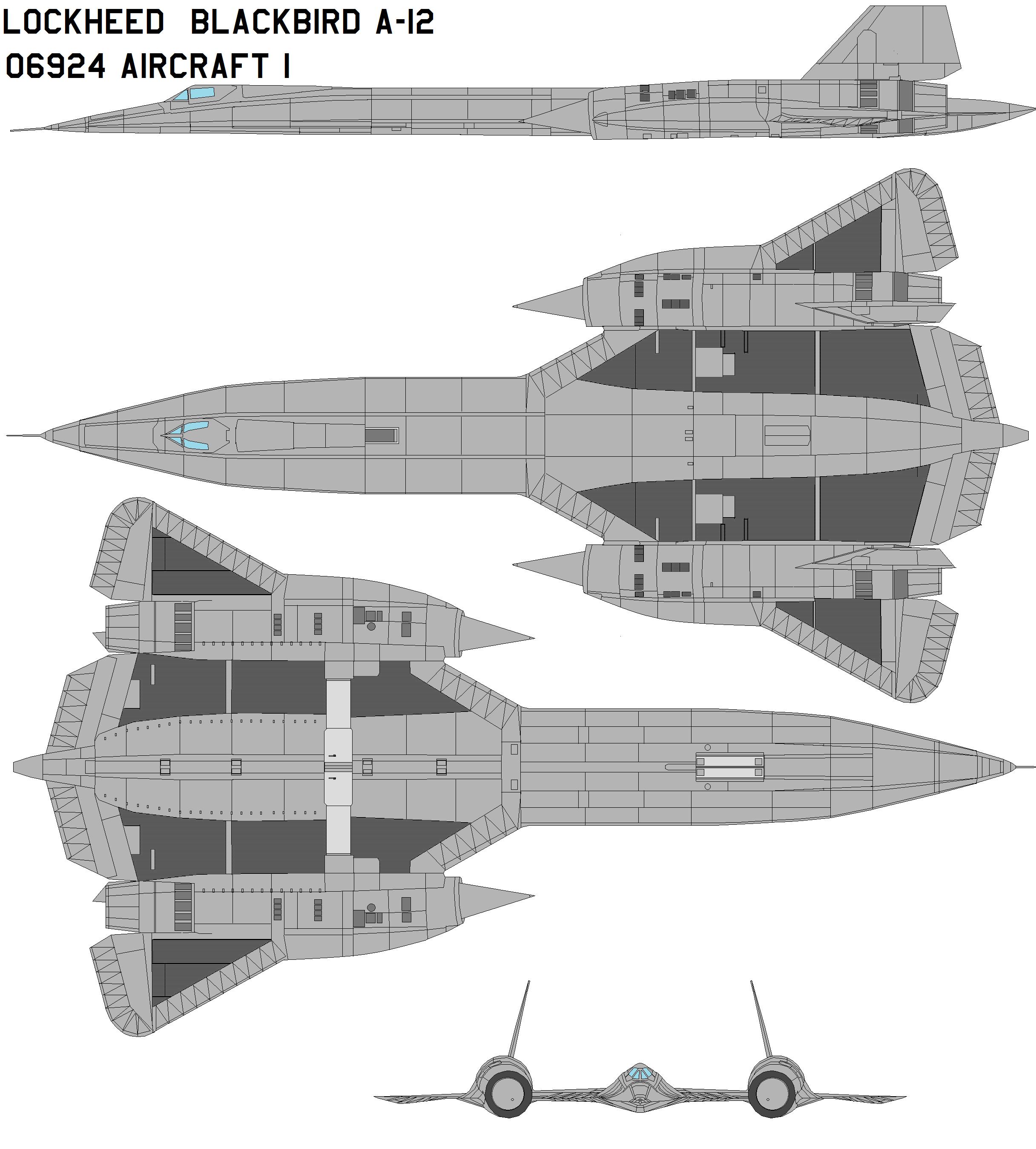 Lockheed A-12 60-6924 bird 1 by bagera3005