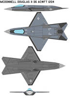 McDonnell Douglas X-36 ACWFT by bagera3005