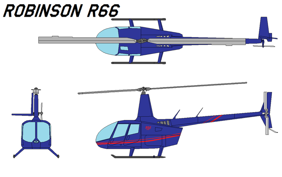 Robinson R66 By Bagera3005 On Deviantart