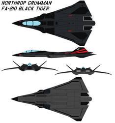 Northrop FA-21D Black tiger