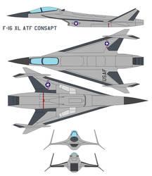 f-16 xl atf consapt