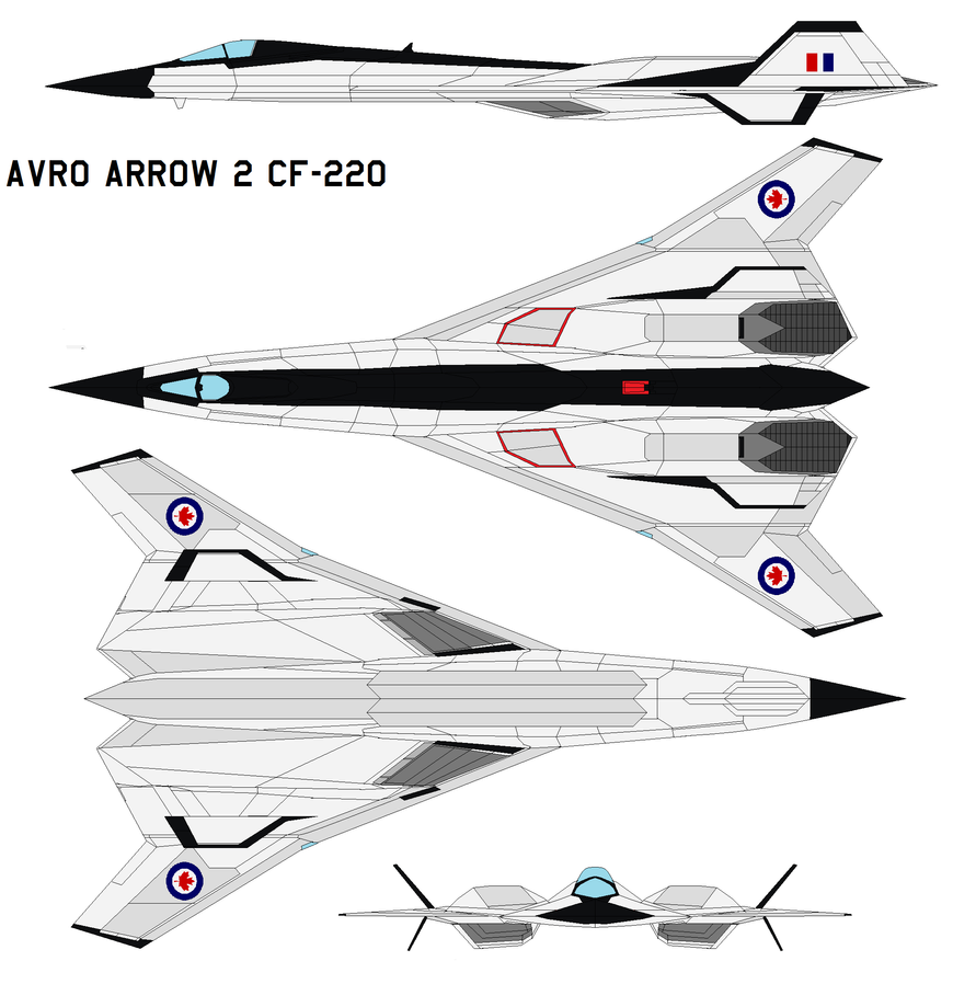 Avro Arrow 2 Cf 220 By Bagera3005 On Deviantart