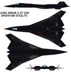 avro arrow 2 cf-220 operation