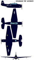 Grumman TBF Avenger by bagera3005