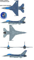 F-16 Fighting Falcon 309th