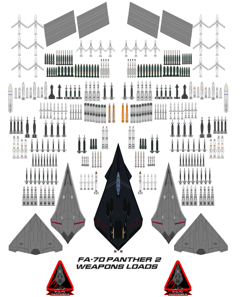 FA-70 panther Weapons load by bagera3005