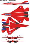 Bae Spitfire 2 Red Arrows