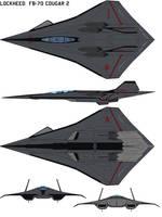Lockheed  FB-70 Cougar 2 by bagera3005
