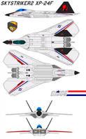 Skystriker 2 XP-24F 1 seat by bagera3005