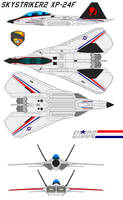 Skystriker 2 XP-24F GI-JOE by bagera3005