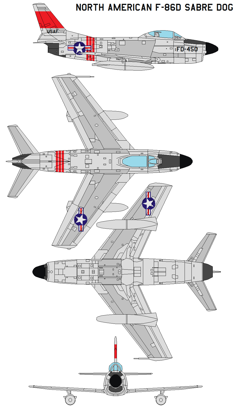 North American F 86d Sabre Dog By Bagera3005 On Deviantart