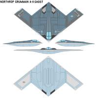 Northrop Grumman A-11 ghost by bagera3005