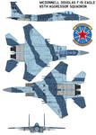 McDonnell Douglas F-15 Eagle 65th Aggressor