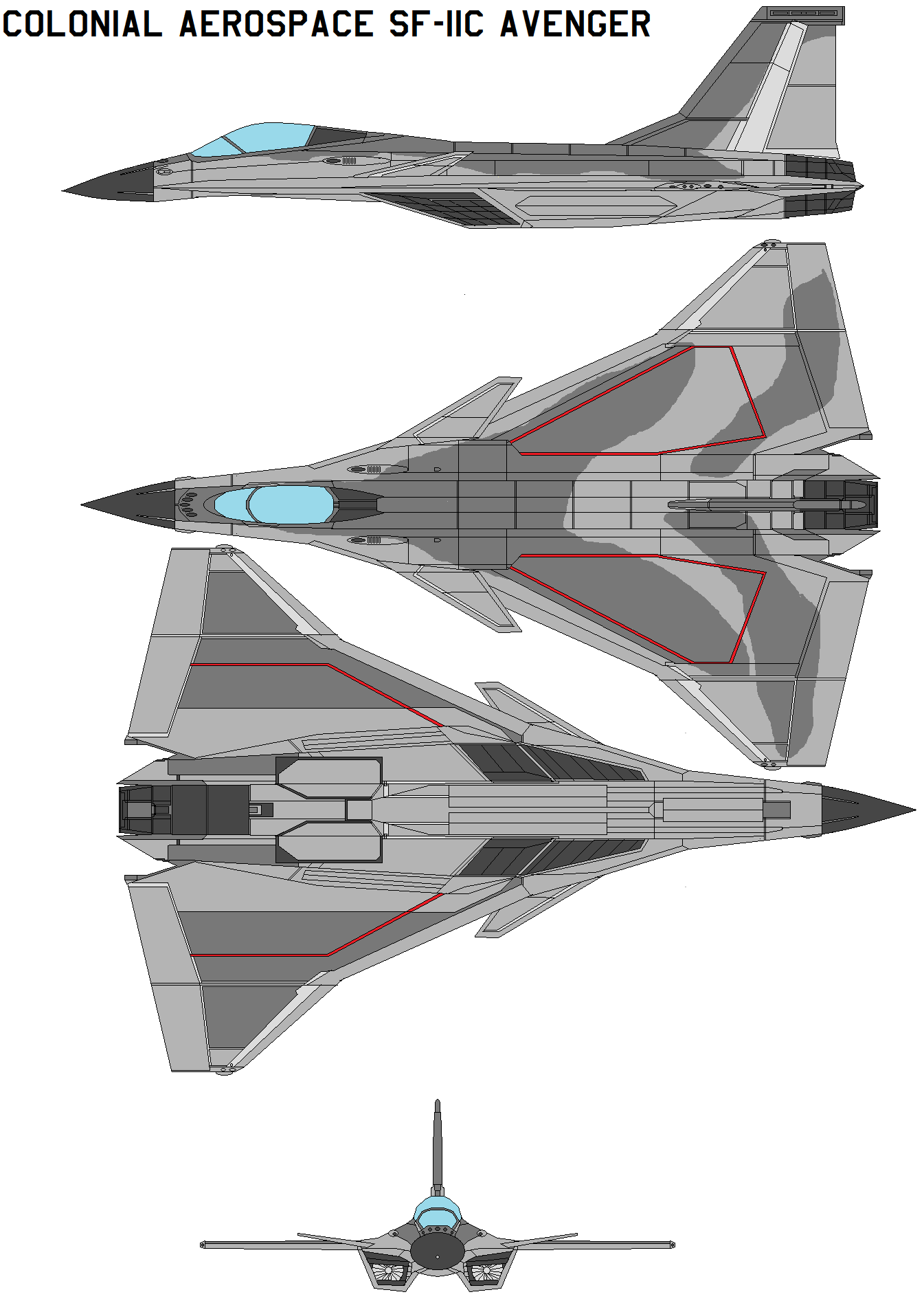 Colonial Aerospace Sf 11c Avenger By Bagera3005 On Deviantart