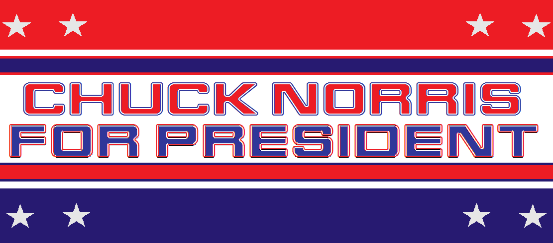 Chuck for President