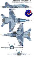 McDonnell Douglas FA-18  VFC-12