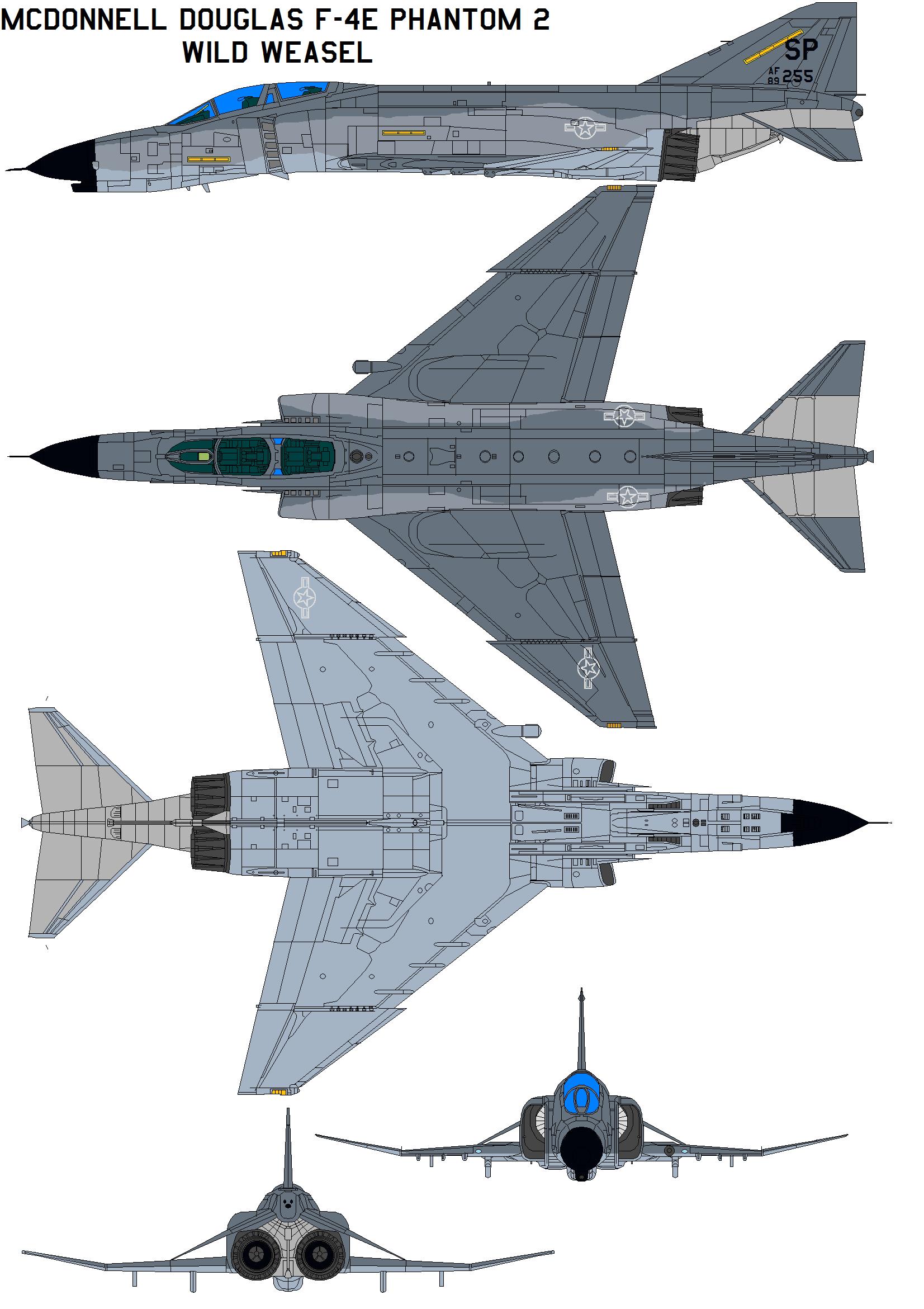 McDonnell Douglas F-4 Phantom II by bagera3005