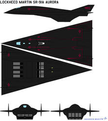 Lockheed Martin SR-91A Aurora
