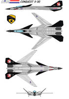 GI-JOE Conquest X-30A by bagera3005