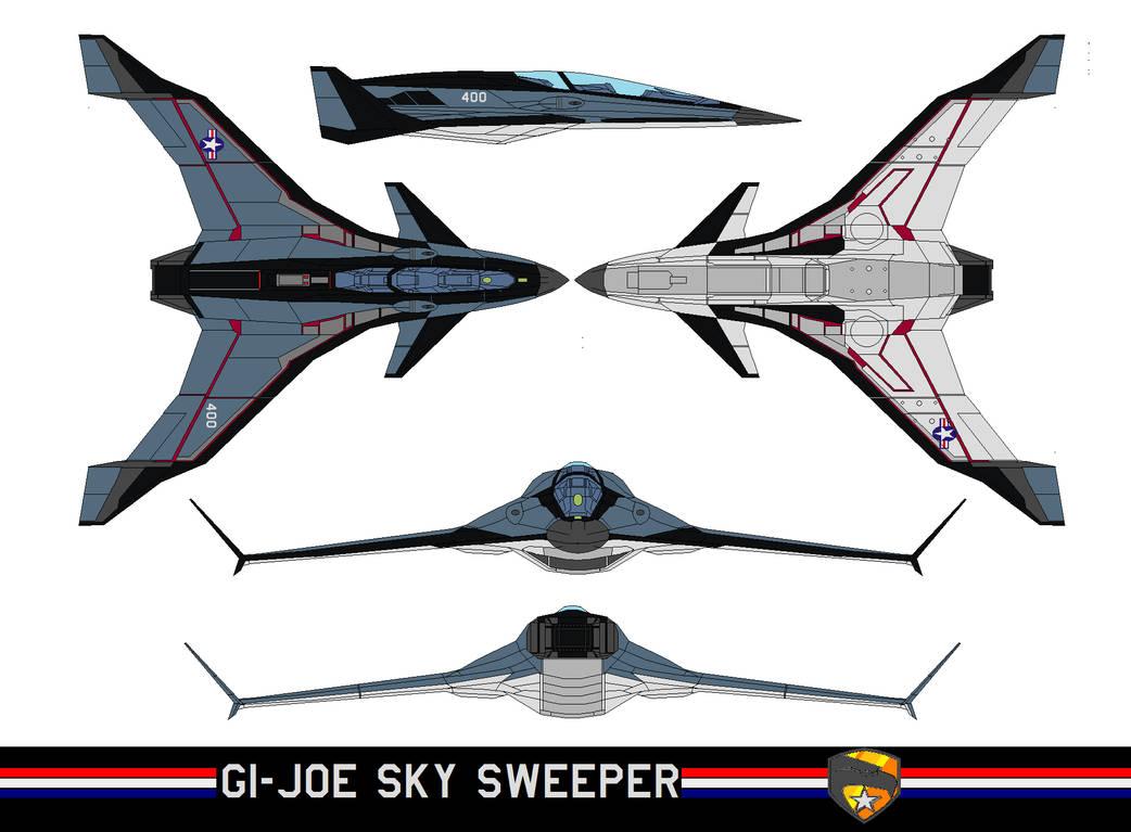 GI-joe SKY SWEEPER by bagera3005